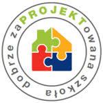 Logo dobrze zaPROJEKTowana szkoła.
